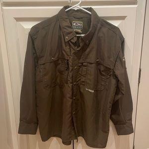 Drake waterfowl youth XL Button down shirt